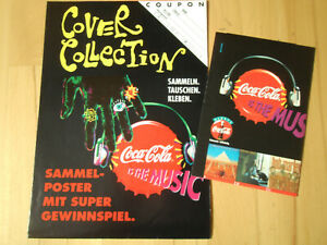 Coca Cola is the Music Cover Collection Sammelposter + Bilderbogen - TOP Z0