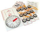 Science First Economy Orienteering Kit with Activity Guide
