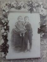 Geschwisterportrait - Bruder mit kleiner Schwester - Foto / Fotographie  Dempzok