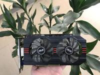 Original ASUS GeForce GTX750TI 2GB GTX 750 Ti  GTX750TI-OC-2GD5 Graphics Card