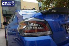 Black Full LED V3 Dynamic Indicator Signal LED Tail lights 14-19 SUBARU WRX STI