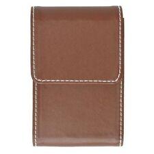 Marshals Brown Premium Leather Business Card Holder
