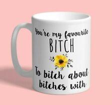 Funny Best Friend Gift, Best Friend Mug, Favorite Bitch Coffee Mug, Sister Gift