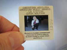 More details for original press photo slide negative - christina aguilera - 2000 - e