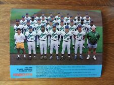 >orig. 1989 Kansas City Royals EUGENE EMERALDS TEAM PHOTO Minor League Baseball