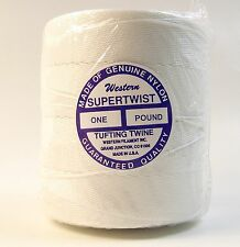 Tufting Twine, Nylon, 1 lb. Roll, Approx. 674 Yards - Shipped from The Usa!