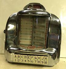 Seeburg Wallbox Wall-O-Matic 3W1 100 Jukebox Selector nice with Key