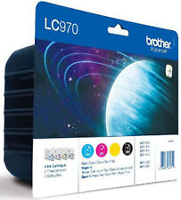 Original Brother LC970 Multipack Ink Cartridge, LC970VALBP