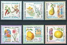 Tunesien - Einheimische Landwirtschaft Folklore Satz postfrisch 1970 Mi. 761-766
