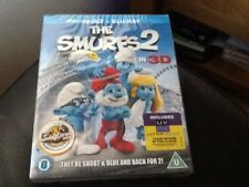 The Smurfs 2 ( 3D & 2D Blu-ray, 2013) NEW STILL SEALED . Inc. special features