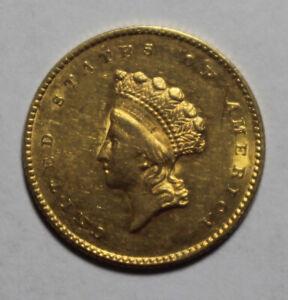 1855 Type 2 $1 Liberty Gold AP17