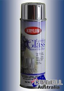 Krylon Looking Glass Spray - Repair or Create a mirror spray paint - AUS seller