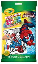 Crayola Colour Wonder (Color Wonder) Mini - Marvel Spiderman