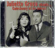 CD - JULIETTE GRECO - Chante Gainsbourg Et Les Autres