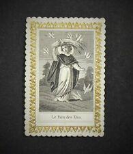 Image pieuse XIXe Le Pain des ELUS Etienne Narcisse Villemur Taille-douce