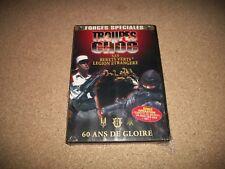 DVD, forces spéciales, troupes de choc, SAS, bérets verts, document guerre, neuf