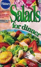 Pillsbury SALADS for Dinner Small Cookbook #209 22 Salads Ready 20 Min or Less