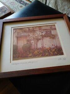 "Signed & Framed ""Shakespeare's House"" Photograph Alan Klug Signed Ltd Ed VGC"