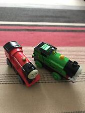 Locomotives James et Percy (Thomas the train)