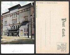 Old Massachusetts Postcard - Worcester Theatre