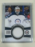 2015-16 Upper Deck Series 1 UD Game Jersey Ondrej Pavelec Winnipeg Jets