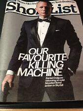 Shortlist Magazine 2012 Daniel Craig 007 Skyfall James Bond Ben Whishaw