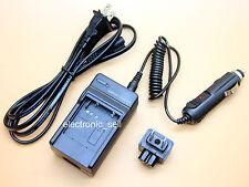 AC/DC Charger+Cord for Sony Handycam DCR-SR47 DCR-SR47E DCR-SR67 HDR-SR100 USA