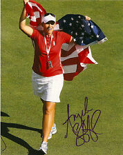LPGA Angela Stanford Autographed Signed 8x10 Photo COA