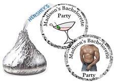 108 BACHELORETTE PARTY FAVORS HERSHEY KISS KISSES LABELS
