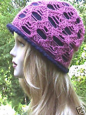 Bees in Your Bonnet Hat Knitting Pattern