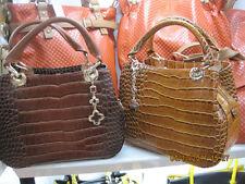 Women Fashion Bag - Brown Leather Handbag/Tote/ Retro Messenger Bag