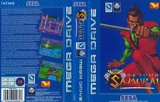 Second Samurai Sega Mega Drive PAL Replacement Box Art Case Insert Cover Scan