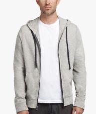 NEW James Perse Classic Zip Vintage Fleece Hoodie - Heather Grey - Size XL / 4