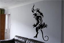 Tribal Art Tiger Wall Wall Sticker Wall Art Decor Vinyl Decal Mural Sticker