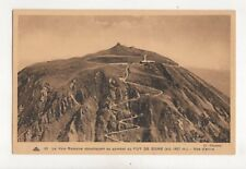 La Voie Romaine Puy De Dome Vue d'Avion France 1939 Postcard 168b