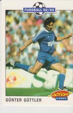 Panini Fussball 92-93 Action Cards #193 Gunter Guttler FC Schalke 04