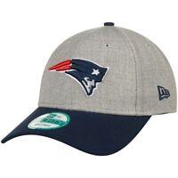 New England Patriots Cap NFL Football New Era 9forty Kappe One Size Klett Grau