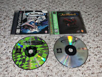 Jet Moto 1 & 2 PlayStation 1 PS1 Lot Bundle