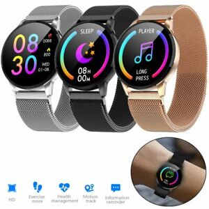 Chic Smart Watch Heart Rate Sleep Monitor for Samsung iPhone 7 8 Plus X 11 XS XR