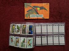 Tropical Birds. Empty Album & Cards. Canadian