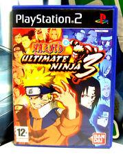 NARUTO ULTIMATE NINJA 3 - PS2 PLAYSTATION -3296580805549- MODENA