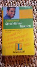 Langenscheidt Sprachführer Türkisch  15x10x1,7cm