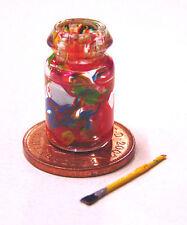 1:12th Dolls House Decorazione Pennello di pulizia Barattolo Set in Miniatura Accessorio L