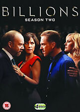 BILLIONS COMPLETE SERIES 2 DVD Second Season Paul Giamatti Damian Lewis UK New