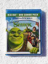 Shrek (Blu-ray + Dvd, 2011, 2-Disc Set) New Sealed