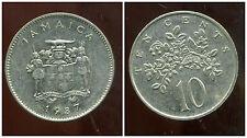 JAMAIQUE teen  10  cent 1987