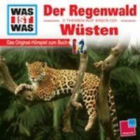 """WAS IST WAS """"FOLGE 24: REGENWALD/WÜSTEN"""" CD NEUWARE"""
