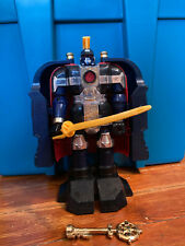 Power Rangers Zeo 1996 Deluxe Auric the Conqueror Zord