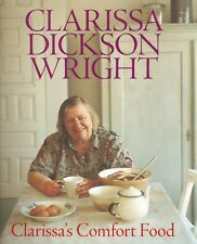 DICKSON WRIGHT CLARISSA COOKERY BOOK CLARISSAS COMFORT FOOD hardback BARGAIN new