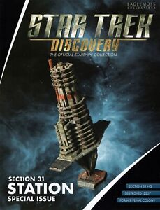 *#3 STAR TREK DISCOVERY STARSHIPS COLLECTION SPECIAL SECTION 31 STATION WARS